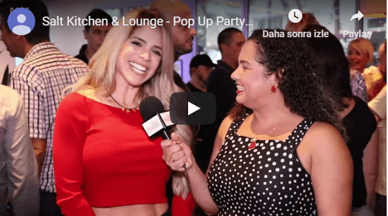 Salt Kitchen Lounge - Pop Up Party by Miami New Times Youtube